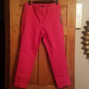 Pink Loft Julie Skinny Ankle Pants